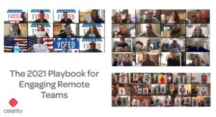 The 2021 Playbook for Engaging Remote Teams