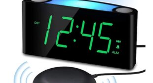 Vibrating Alarm Clocks So Effective That You Won't Hit Snooze