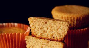 Lemon Muffins (Eggless & Whole Wheat)